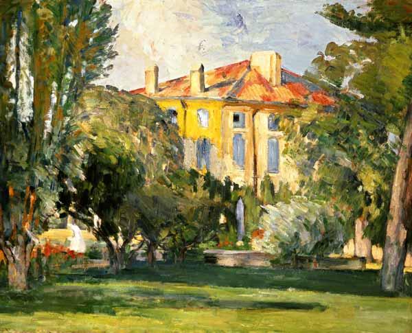 La maison du jas de bouffan peinture huile sur toile de paul c zanne - La maison du discount ...