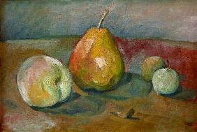 Still-life with pears...