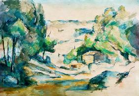 C�zanne, Paul : Landscape in the Provence