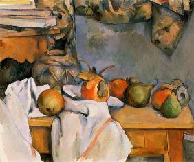 C�zanne, Paul : Still life wit.ginger pot