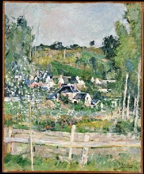 A View of Auvers-sur-Oise, The Fence, c.1873