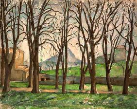 C�zanne, Paul : Chestnut trees at the Jas ...