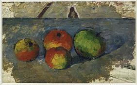Four Apples, c.1879-82