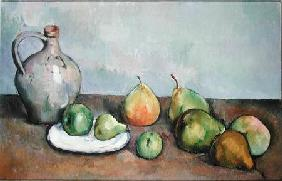 Still Life with Pitcher and Fruit