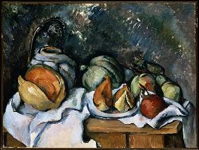 Still Life with Fruit and a Ginger Pot, c.1895