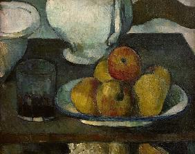 Still-life with apples...