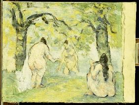 Three Bathers, 1875-77