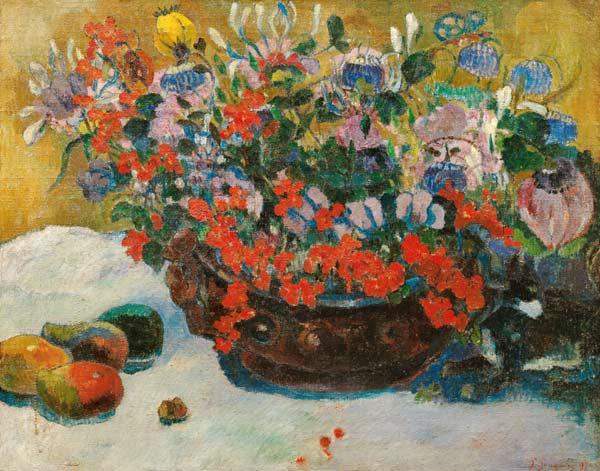 Gauguin Bouquet-of-Flowers