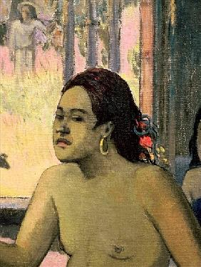 Eiaha Ohipa or Tahitians in a Room, 1896 (detail of 47617)