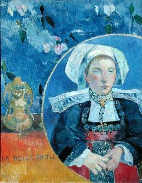The Beautiful Angel (Madame Angele Satre, the Innkeeper at Pont-Aven)
