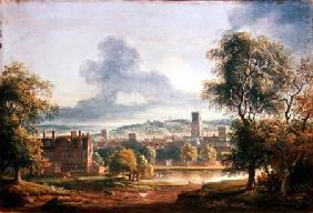 A View of Ipswich (w/c