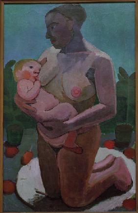 Kneeling Mother 1907