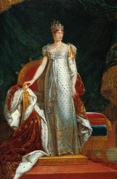 Portrait of Empress Marie Louise (1791-1847) of France, after a painting by Francois Gerard