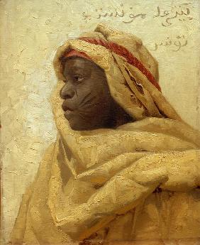 Portrait of a Nubian Man