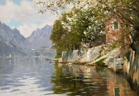 Spring Day on Lake Lugano