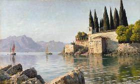 Punta di San Vigilio at Lake Garda