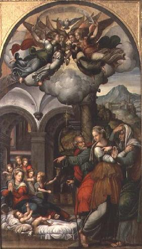 Nativity with the Two Midwives