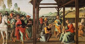 Perugino, Adoration of the Magi / Paint.