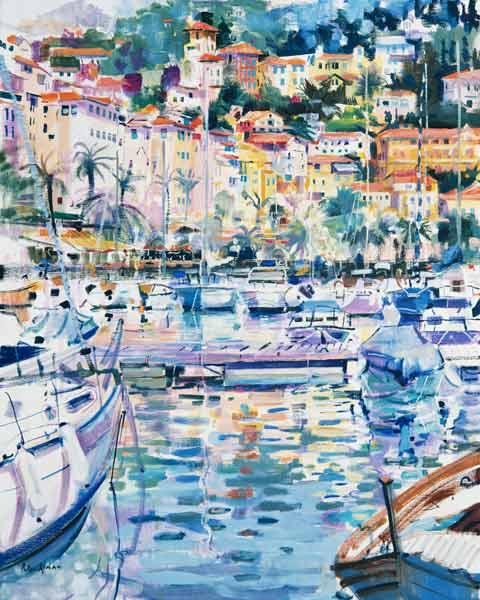 Riviera Yachts, 1996 (oil on canvas)
