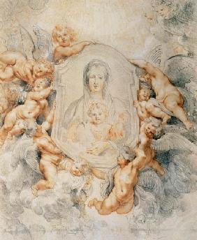 Image of the Madonna / Rubens / 1608