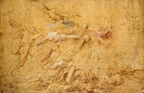 Minerva and Hercules Driving Away Mars