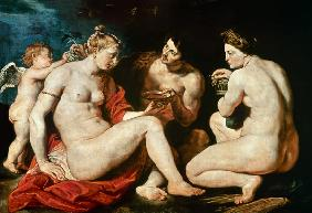Venus, Cupid, Bacchus and Ceres
