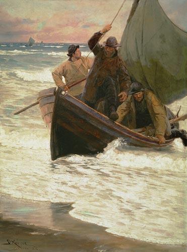 retour des pêcheurs (Skagen)