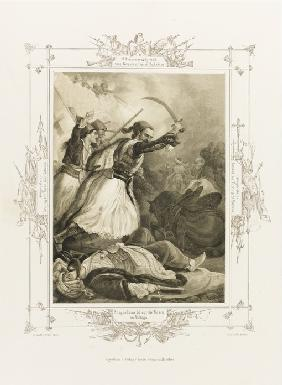 Christos Anagnostaras (From the Album of Greek Heroism)