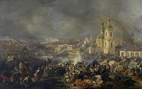 The Battle of Vyazma on November 3, 1812