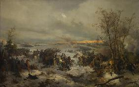 The Battle of Krasnoi (Krasny) on November 17, 1812