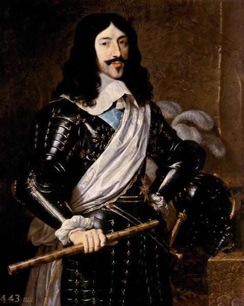 Titre de l'image : Philippe de Champaigne - Portrait de Louis XIII