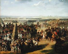 The French Army Pulling Down the Rosbach Column, 18th October 1806
