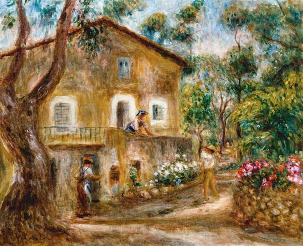 the maison de collette in cagnes pierre auguste renoir. Black Bedroom Furniture Sets. Home Design Ideas