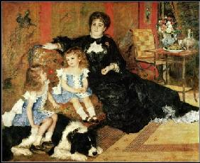 Madame Georges Charpentier and her Children 1878