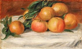 Still Life With Apples And Oranges 1901