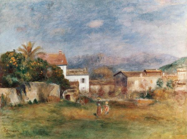 Renoir / View near Cagnes / 1903/05 1903/05
