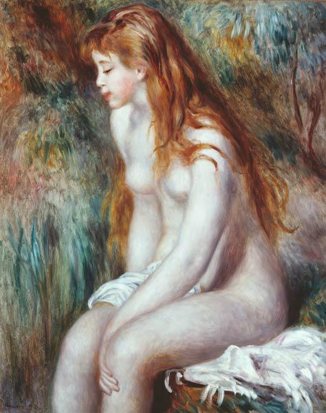 Renoir / Young bather / 1892