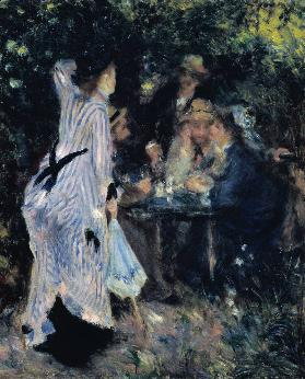 In the Garden, or Under the Trees of the Moulin de la Galette