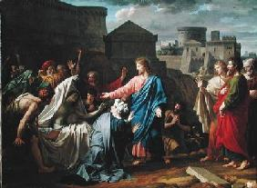 Jesus Resurrecting the Son of the Widow of Naim