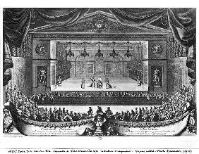 The Third Day, from ''La Malade Imaginaire'' Moliere (1622-73) performed in the garden at Versailles