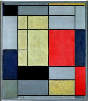 piet mondrian en reproductions imprimes ou peintes sur repro tableaux com. Black Bedroom Furniture Sets. Home Design Ideas