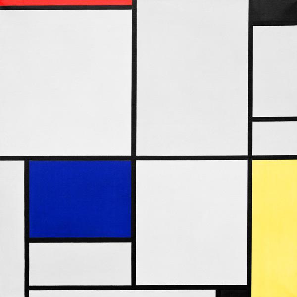 piet mondrian en reproductions imprimes ou peintes sur repro tableaux com. Black Bedroom Furniture Sets. Home Design Ideas