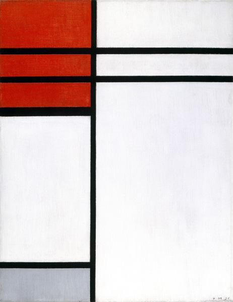 Composition with Red