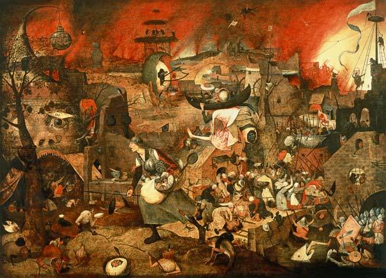 Dulle Griet, Brueghel l'Ancien