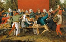 A Wedding Feast (panel)