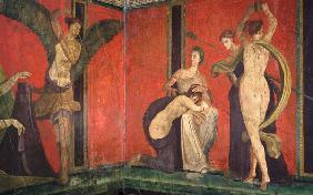 Pompei Peinture Murale Reproductions Et Copies Fabriquées Sur