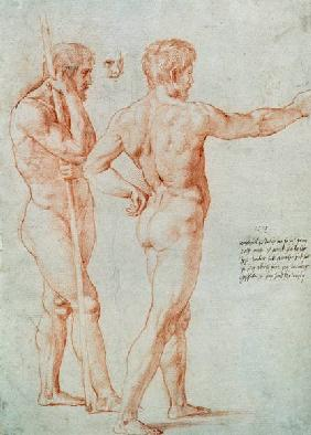 Raphael, Three Male Nudes