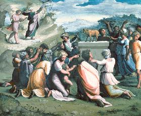 Raphael / Dance around the Golden Calf