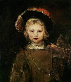 Young Boy in Fancy Dress