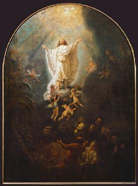 Rembrandt / Ascension of Christ / 1636